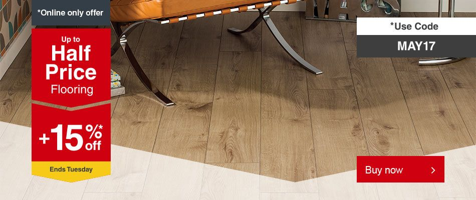 Half Price on Flooring