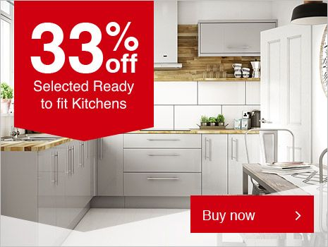 Wickes Stocked Kitchen Range Available To Click And Collect