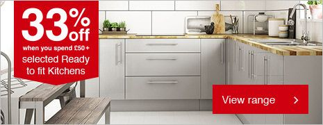 Wickes Stocked Kitchen Range - Available to Click and Collect
