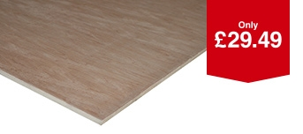 Non Structural Hardwood Plywood 18 x 1220 x 2.4m