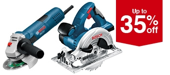 Selected Bosch Tools offers