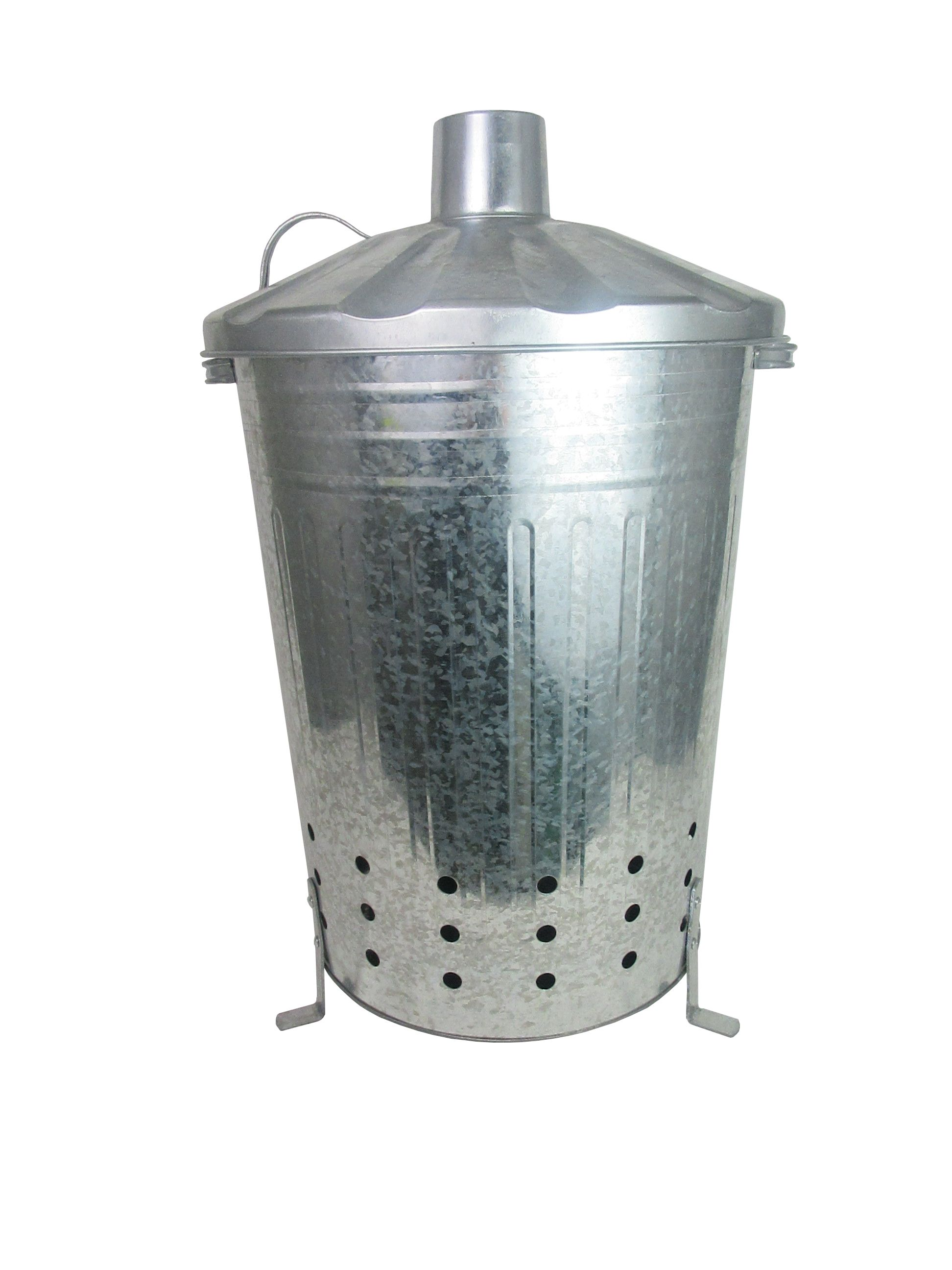 Compare prices for Apollo Galvanised Steel Garden Incinerator - 80L