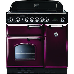 Rangemaster 87690 Classic 90 Induction Cranberry at Wickes DIY