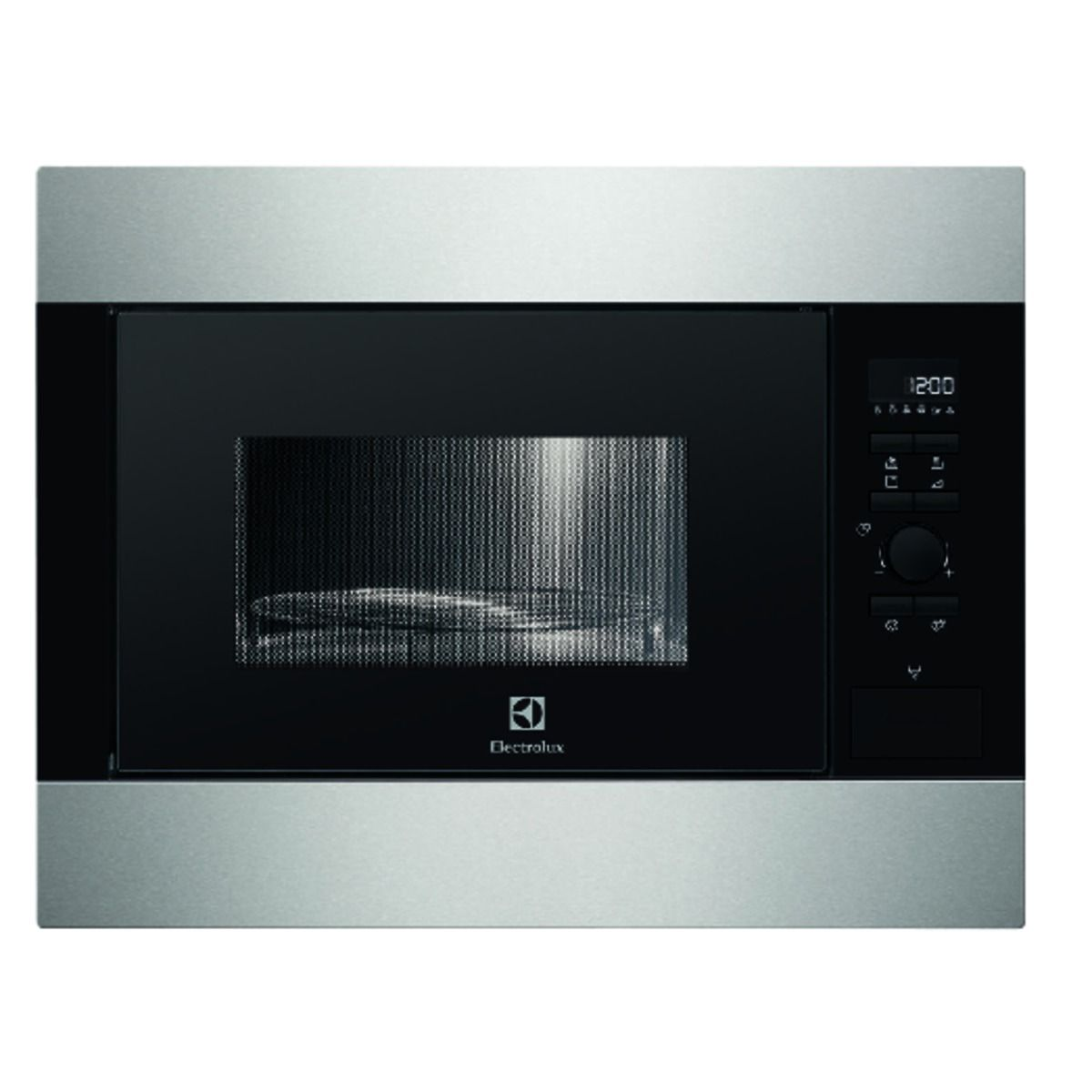 electrolux built in oven. electrolux ems26204ox fully built-in 26 litre microwave oven with grill stainless steel 900w | wickes.co.uk built in