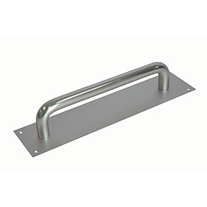 Image of 4FireDoors Pull Handle - Satin Aluminium 19mm