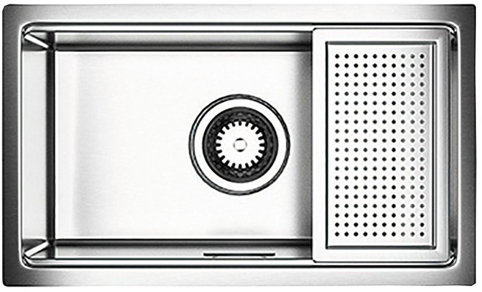 Astracast Single Bowl Kitchen Stainless Steel Compact Sink | Wickes.co.uk