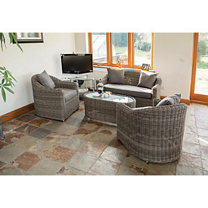 Rowlinson Bunbury Sofa Set Four Pieces