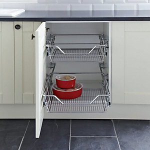 Pull Out Wire Shelves 600mm