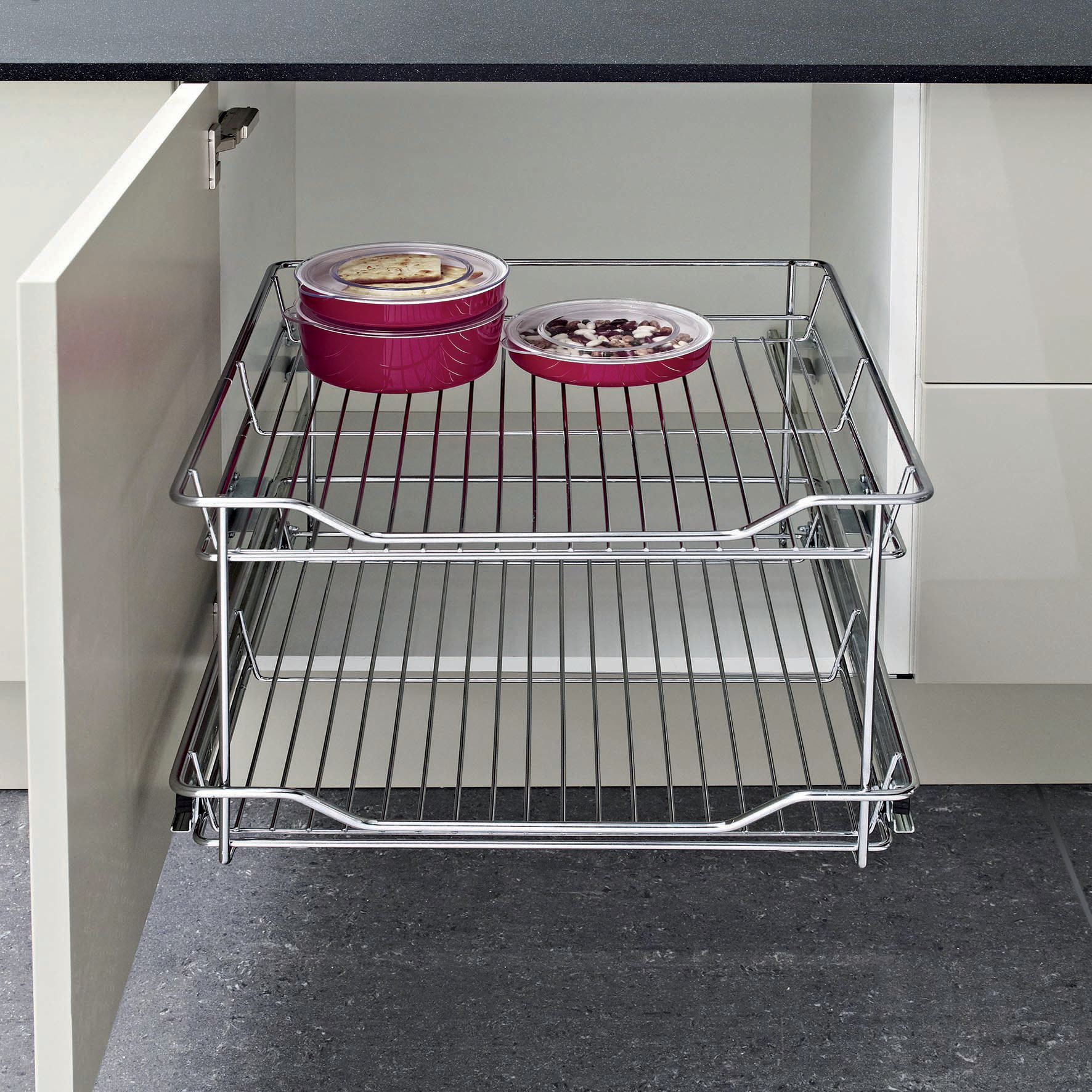 Cheapest price of 300 2 Tier Wire Pullout in new is £39.00