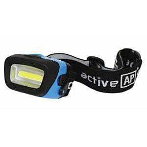 Active AP Torches A52582 COB LED 3 Mode Headtorch with Battery - 140lm