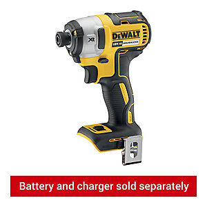 Image of DeWalt DCF887N-XJ 18V Xr Cordless 3 Speed Impact Driver - Bare