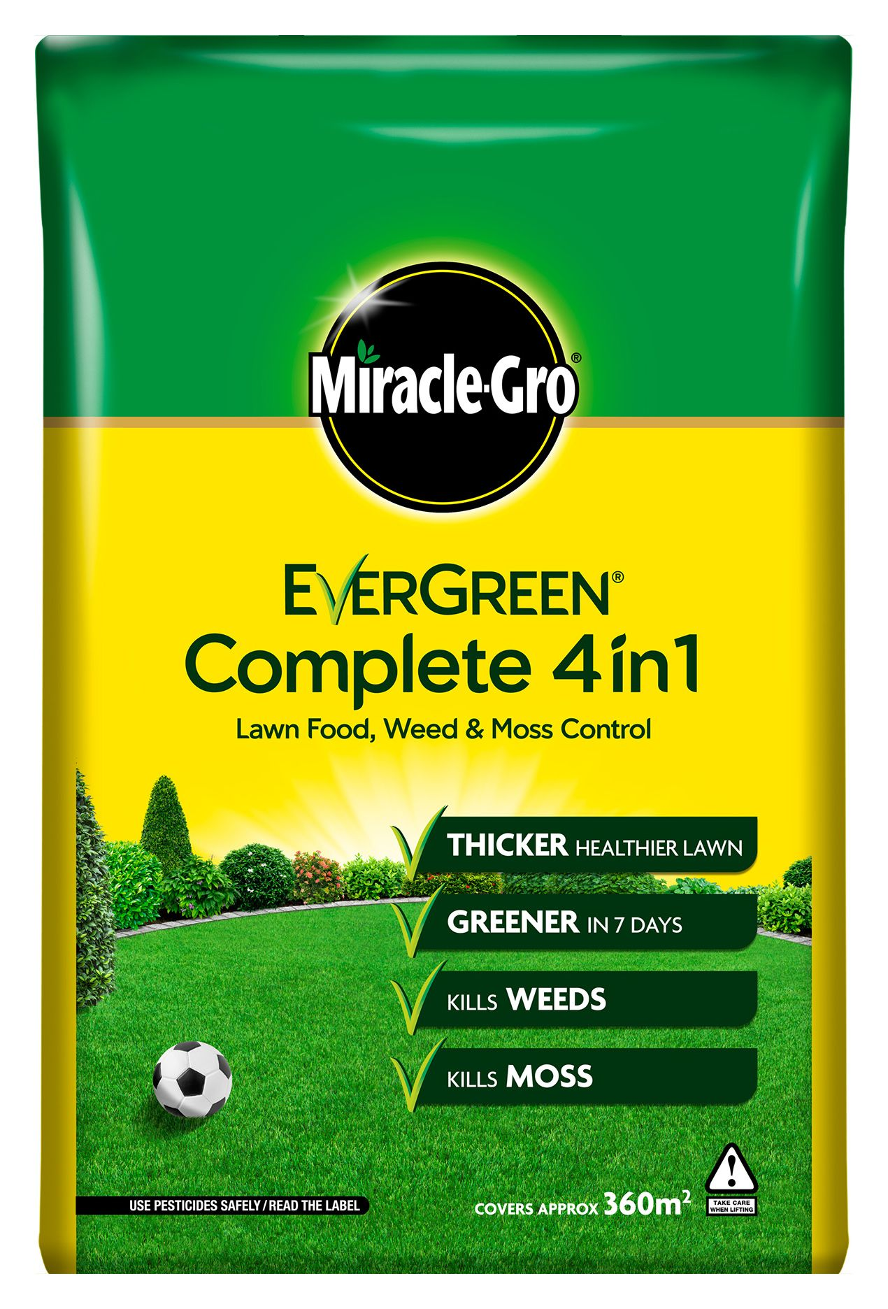 Compare prices for Evergreen Complete Lawn Feed Weed and Moss Killer Refill Bag - 12.6kg