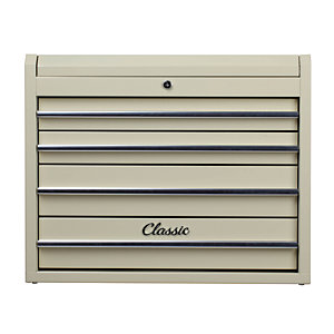 Hilka Classic 4 Drawer Tool Chest - Cream