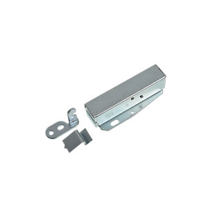 Wickes Loft Touch Door Latch - Zinc 80 x 20 x 35mm Pack of 2