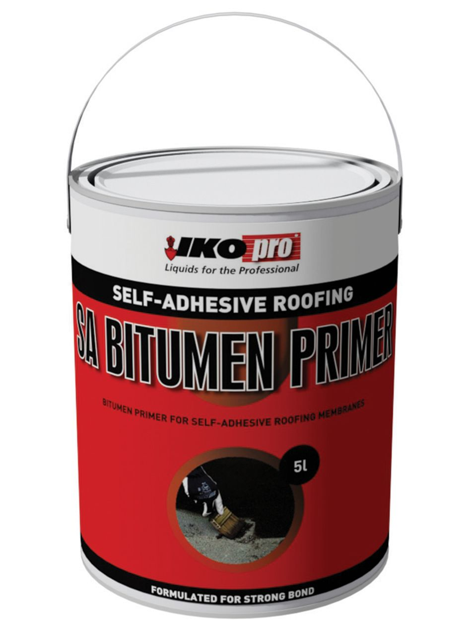 Compare prices for IKOpro Self-Adhesive Roofing Bitumen Primer 5L