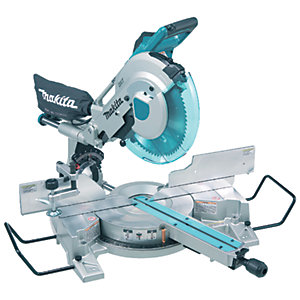 Image of Makita LS1216LX2 305mm Compound Mitre Saw with Laser Guide 240V - 1650W