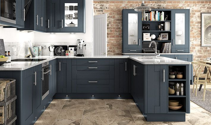 Milton Midnight Kitchen Wickes Co Uk