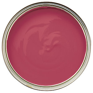 Wickes Quick Dry Gloss Paint Raspberry Kiss 750ml