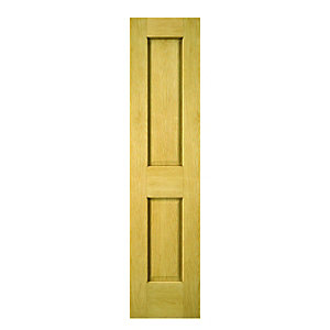 Wickes Cobham Internal Oak Veneer Door 2 Panel 1981x457mm