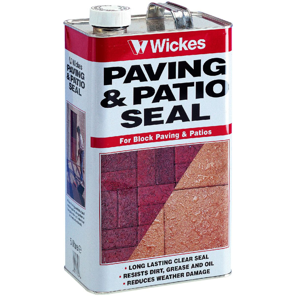 Wickes Paving U0026 Patio Seal 5L Clear | Wickes.co.uk