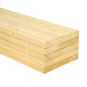 Wickes Whitewood PSE 18 x 144 x 2400mm Pack 5.