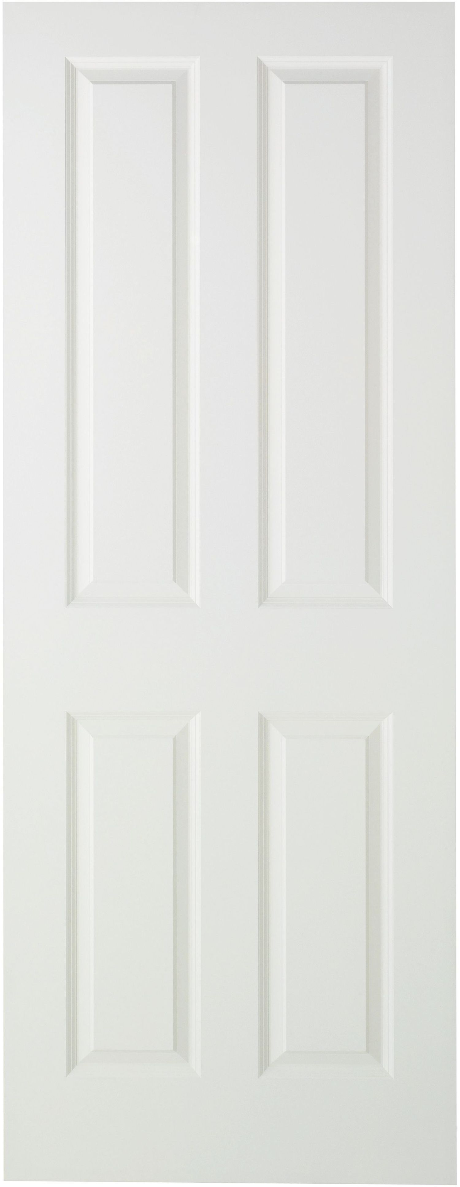 Wickes stirling internal moulded door white primed smooth 4 panel mouse over image for a closer  sc 1 st  STOKKELAND.INFO & Wicks Interior Doors Image collections - Doors Design Ideas pezcame.com
