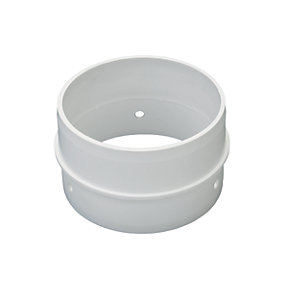 Wickes Round Ducting Connector 105mm.