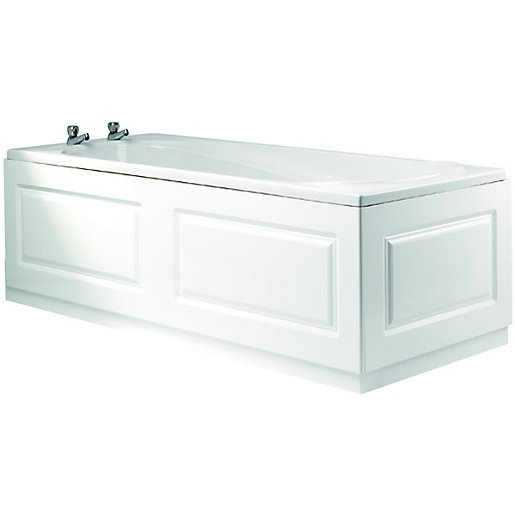 wickes bath front panel glacier white 1700mm. Black Bedroom Furniture Sets. Home Design Ideas