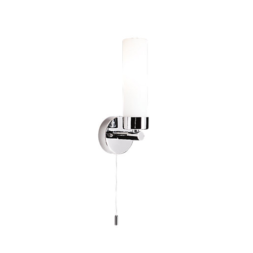Wickes Garden Wall Lights : Wickes Leno Uplighter Bathroom Wall Light Wickes.co.uk