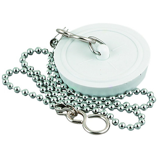 Sink Plug & Chain 175in Wickes