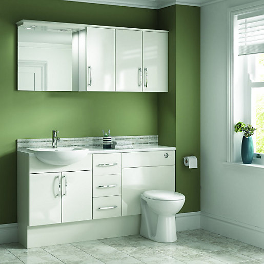 Bathroom Worktops Bathroom Furniture Wickescouk - Bathroom vanity unit worktops for bathroom decor ideas