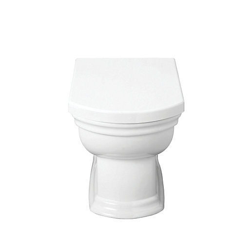 wickes belize toilet seat white. Black Bedroom Furniture Sets. Home Design Ideas