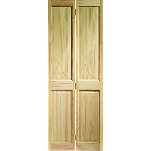 wickes skipton internal bi fold door clear pine 4 panel. Black Bedroom Furniture Sets. Home Design Ideas
