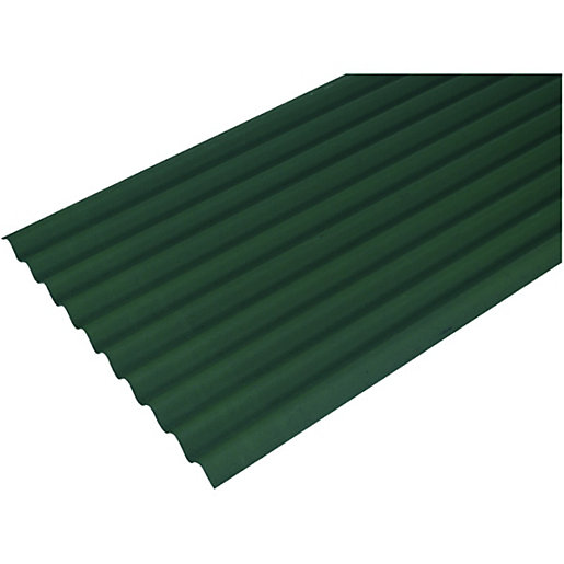 Bitumen Corrugated Sheets & Trims | Roofing | Wickes.co.uk