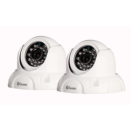 Swann SWPRO736PK2UK High Resolution Dome Security Camera 2 Pack ...