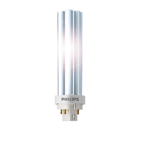 Compact Fluorescent Bulbs | Light Bulbs | Wickes.co.uk:Philips 18W Pl-c 4 Pin CFL Bulb,Lighting