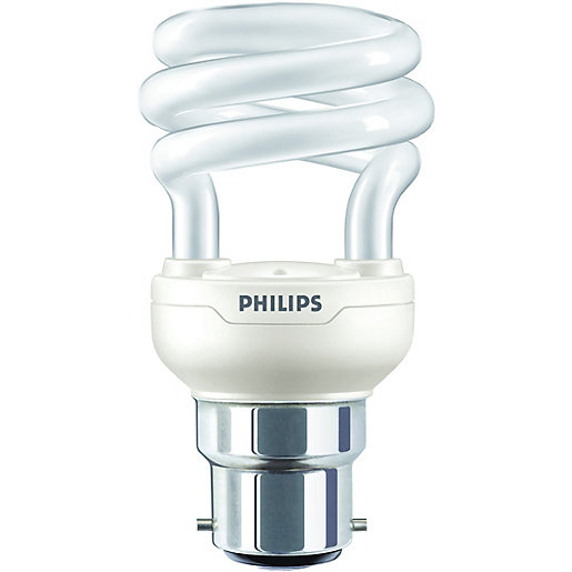 philips 8w bc tornado cfl spiral bulb. Black Bedroom Furniture Sets. Home Design Ideas