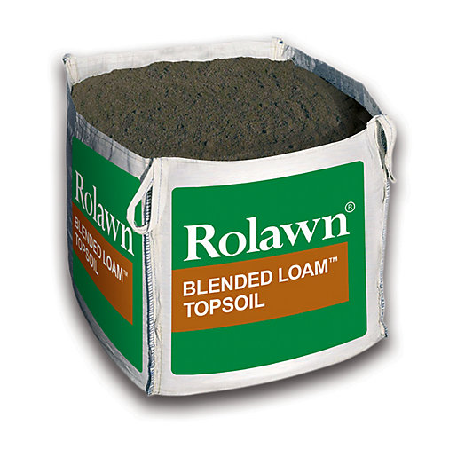 Rolawn blended loam topsoil bulk bag 1000 l for Compost soil bags
