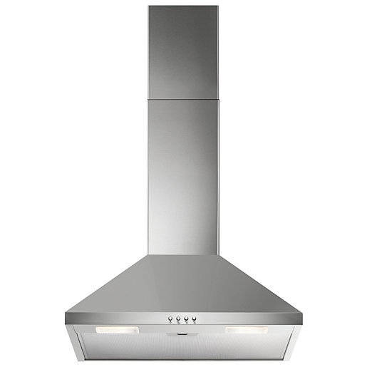 Electrolux 3 Speed Chimney Cooker Hood 600mm Wickes Co Uk