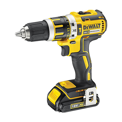 dewalt 18v li ion brushless combi drill dcd795s1 gb. Black Bedroom Furniture Sets. Home Design Ideas