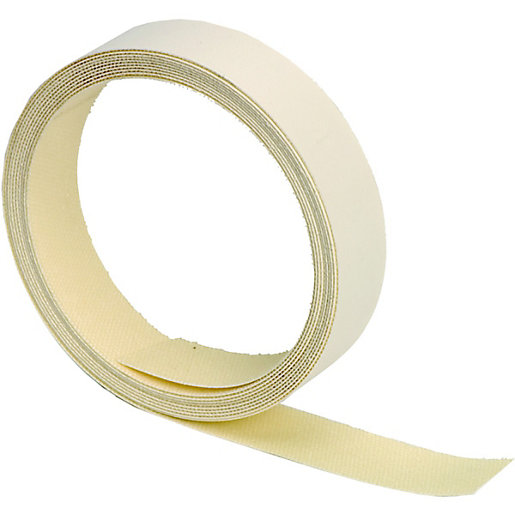 wickes iron on edging tape white 19x2500mm. Black Bedroom Furniture Sets. Home Design Ideas
