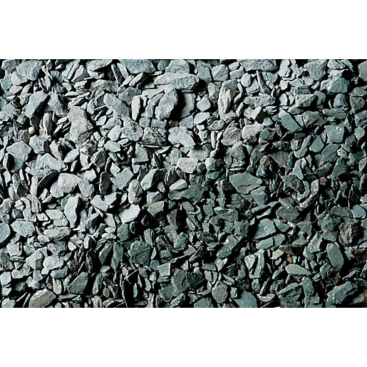 Names Of Decorative Stones : Wickes decorative green slate chippings major bag