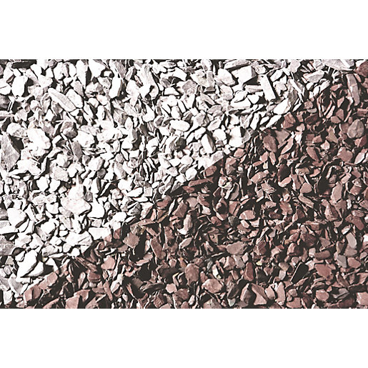 Names Of Decorative Stones : Wickes decorative plum slate chippings major bag