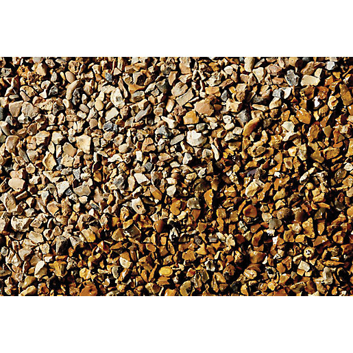 Names Of Decorative Stones : Wickes solent gold gravel jumbo bag