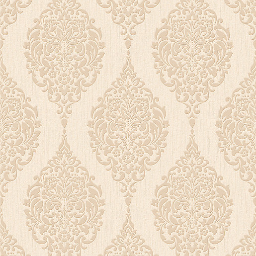 Superfresco colour luna decorative wallpaper gold - Decoratie wallpaper eetkamer ...
