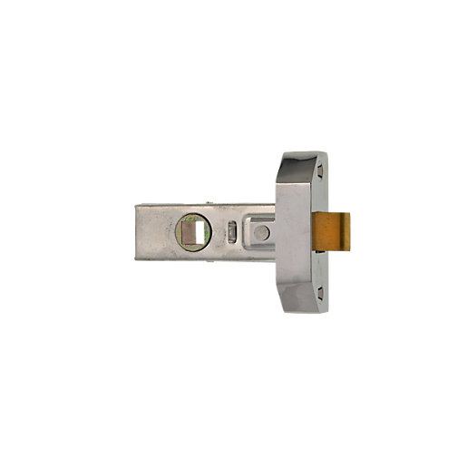 Wickes Rebated Tubular Latch 63mm Wickes Co Uk