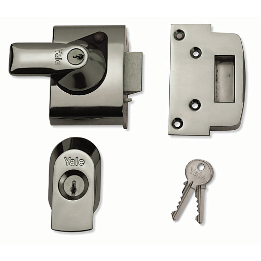 Yale P Bs2 Ch Ch 40 British Standard Nightlatch 40mm