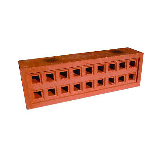 Wickes Square Hole Clay Airbrick 215mm X 65mm Wickes Co Uk