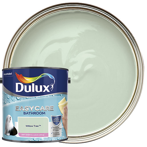 Dulux Bathroom Soft Sheen Emulsion Paint Willow Tree 2