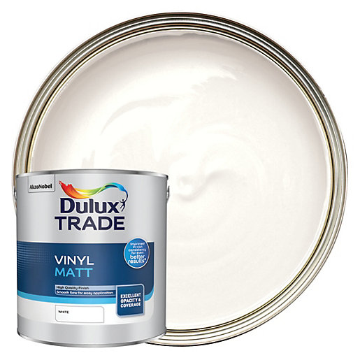 Dulux Trade L Matt White Paint